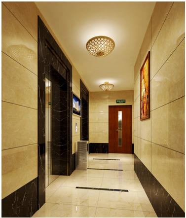 入戶電梯前室裝修效果圖